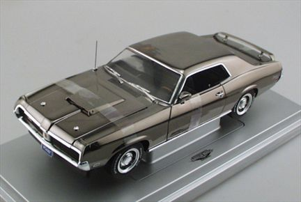 Mercury Cougar Eliminator 1969 (Black Chrome)