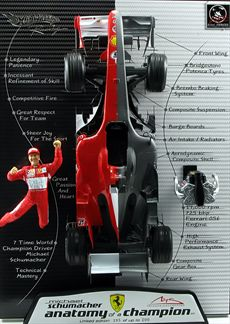 Formule 1 Ferrari 248 F1 Anatomy of a Champion Schumacher 2006