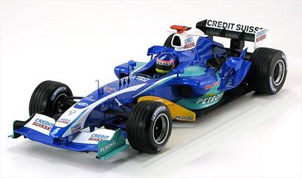 Formule 1 Sauber Petronas C24 Villeneuve 2005