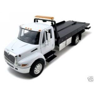 International Durastar 440 Flat Bed (White)
