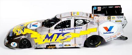 MTS / Valvoline Funny Car 2009 Jack Beckman