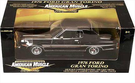 Ford Gran Torino 1976 *Chase Black Chrome*