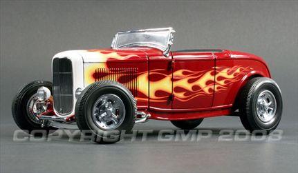 Ford 1932 Roadster - Deuce Series #4 Edelbrock/Brizio *Paints defects*