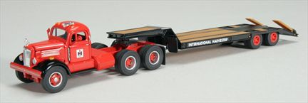 International Harvester WC22 with Lowboy