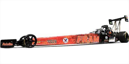 Cory McClenathan Fram Cory Mac Top Fuel Dragster 2009