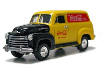 1950 Chevy Panel Truck Coca-Cola