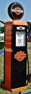 HARLEY DAVIDSON GAS PUMP - FULL SIZE
