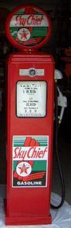 TEXACO SKY CHIEF GAS PUMP - FULL SIZE