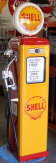 SHELL GAS PUMP - FULL SIZE