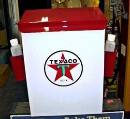 TEXACO STAR GAS STATION TOWEL BOX