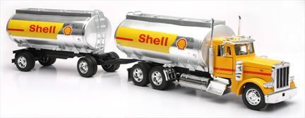 Peterbilt 379 Twin Oil Tanker (Shell)