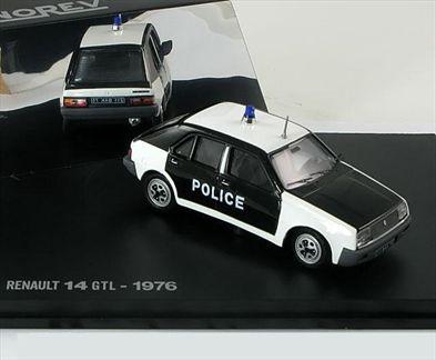 Renault 14 GTL 1976 Police