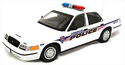 Police de Roussillon Ford Crown Victoria