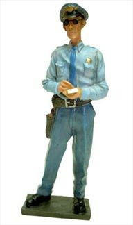 Small Town Sheriff Figurine