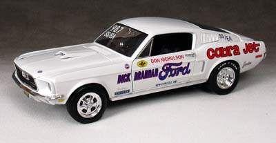Ford Mustang Cobra Jet 428 Super/Stock 1968 1/2