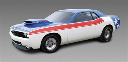 Dodge Challenger Super Stock Drag Car