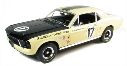 Ford Shelby Mustang 1967 Terlingua Team Tribute #17 Jerry Titus