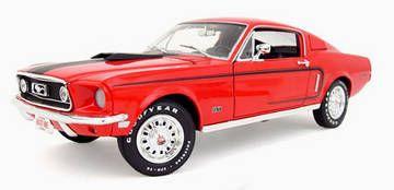 Ford Mustang GT 428-CJ 1968
