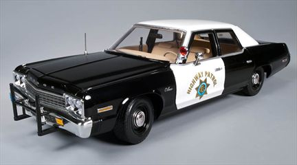 Dodge Monaco 1974 California Highway Patrol Police Car **Last One**