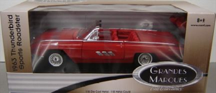 Ford Thunderbird Roadster Sports 1963 Convertible