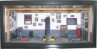 Garage Diorama Scene