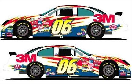 Todd Kluever #06 Ford Fusion 2006
