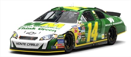 The Waste Management #14 Chevrolet Monte Carlo 2006