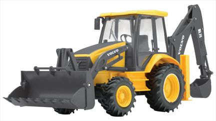 Volvo BL71 Backhoe Loader - Remote Control 27 MHZ