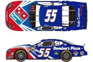 Michael Waltrip #55 Domino's Pizza Dodge 2006