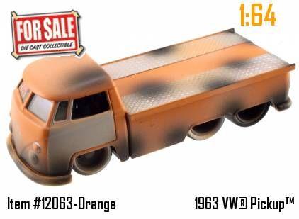 Volkswagen Bus Pickup 1963
