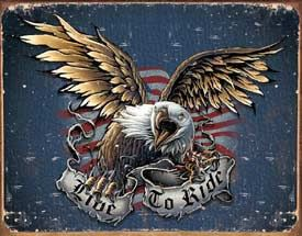 Live To Ride Eagle