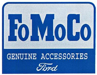 FoMoCo Genuine accessories Ford