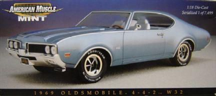Oldsmobile 442 W32 1969