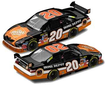 Tony Stewart #20, 10 Anniversary The Home Depot 2008 Camry, Limited