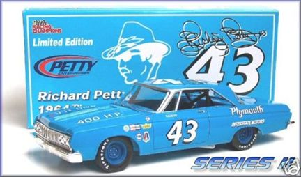 1964 Plymouth Belvedere Richard Petty #43 Series II, Limited