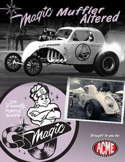 The Magic Muffler Fiat Topolino Altered