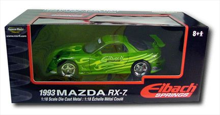 1993 Mazda RX-7 Eibach SPRINGS Touning