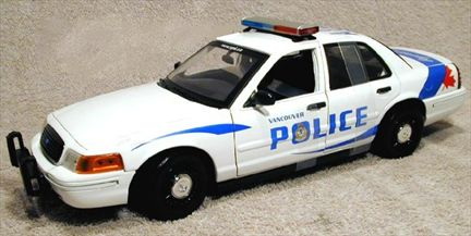 Ford Crown Victoria Police Vancouver