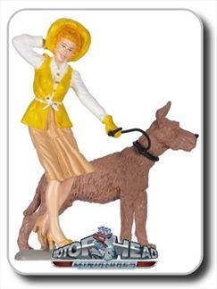 Miniature Dummy Emily with dog