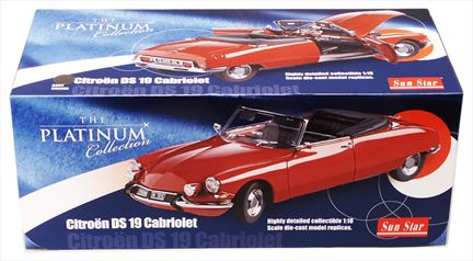 Citroen DS 19 Cabriolet Convertible