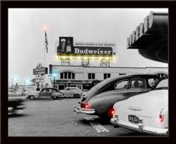 Budweiser Mini Led Poster