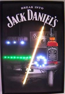 Jack Daniels Mini Led Poster