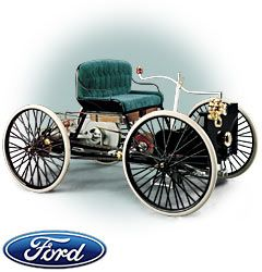 Ford Quadricycle 1896  Henry Ford's First Car!