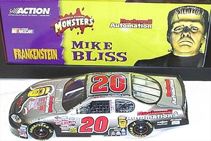 Mike Bliss #20 Rockwell Automotion/ Monsters 2003 Monte Carlo