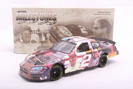 Rusty Wallace #2 Milestones / 9X Bristol Winner 2005 Dodge Charger