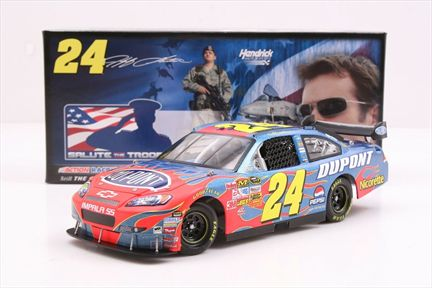 Jeff Gordon #24 DuPont / Salute The Troops 2008 Impala SS