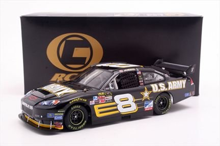 Aric Almirola #8 Army 2008 Impala SS Club Car