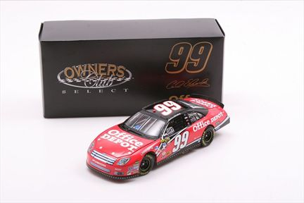 Carl Edwards #99 Office Depot 2007 Fusion Owners Club Select