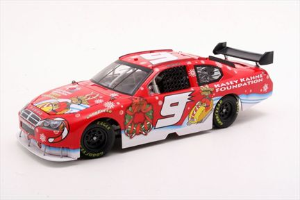 Kasey Kahne #9 Sam Bass Holiday 2008 Charger Club Car