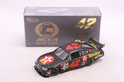Juan Pablo Montoya #42 Texaco / Havoline 2008 Charger RCCA Club Car
